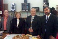 Πευκιανάκης με μέλη του Συλλόγου