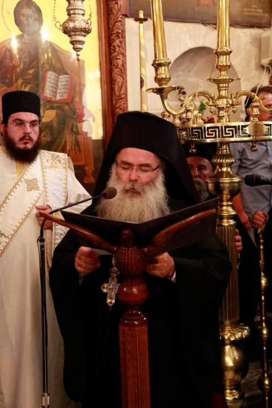 Κύριλλος Διαμαντάκης, νέος Μητροπολίτης Ιεραπύτνης και Σητείας