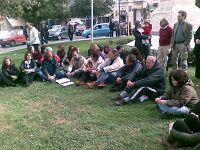 Από εκδήλωση διαμαρτυρίας καθηγητών