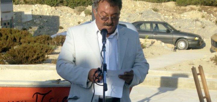 Δηλώσεις Αντιδημάρχου Γαύδου Στρατή Λαμπάκη