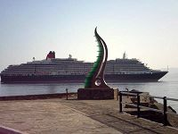 έξω από το λιμάνι του Αγίου Νικολάου
