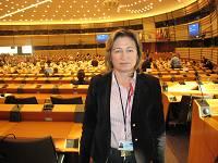 Στην αίθουσα του Ευρωπαϊκού Κοινοβουλίου