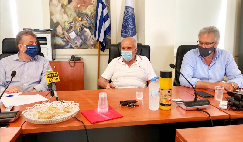 Την ανάπλαση του κέντρου της Σητείας υπέγραψε ο Περιφερειάρχης Κρήτης