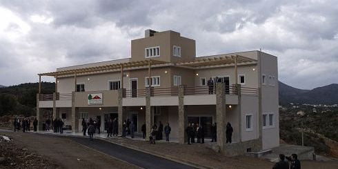 το κεντρικό κτίριο διοίκησης του ΒΙΟ.ΠΑ. Αγίου Νικολάου
