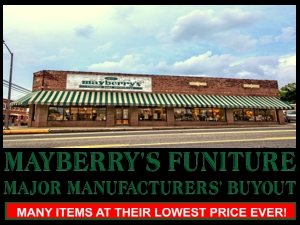 MAYBERRYS FURNITURE MAJOR MANU BUYOUT 300X225