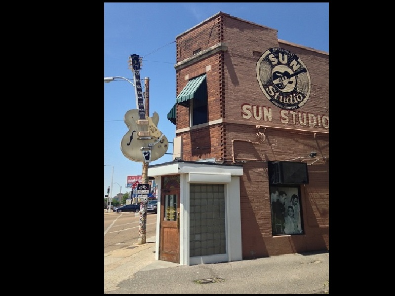 HISTORIC SUN RECORDS BUILDING IN MEMPHIS, TENNESSEE – 105.7 News Crossville Rockwood Knoxville TN