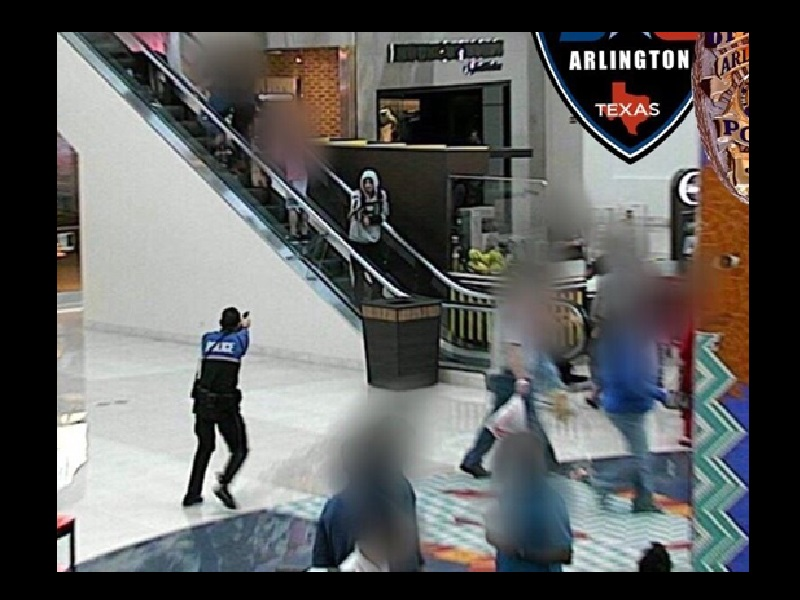 Officer Shoots Mall Theft Suspect that Showed Fake Gun