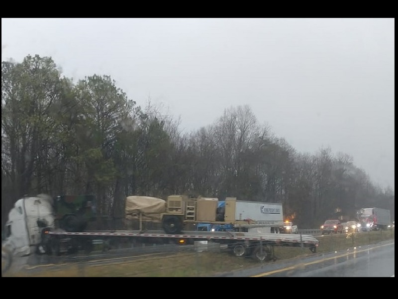TRACTOR-TRAILER ACCIDENT CA– USED BACKUP ON I-40 – 105 7