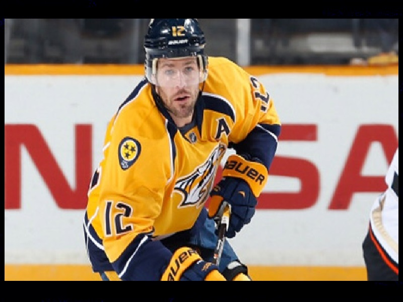 brand new a089f 84608 FORMER PREDATORS CAPTAIN MIKE FISHER TO BE HONORED – 105.7 ...
