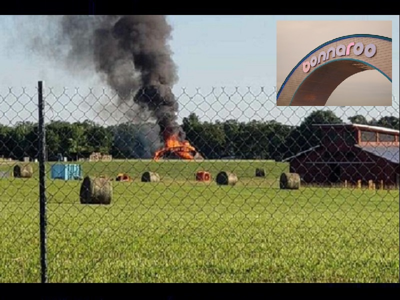 DOWN IN FLAMES – FAMED BONNAROO ARCH IS SLATED FOR