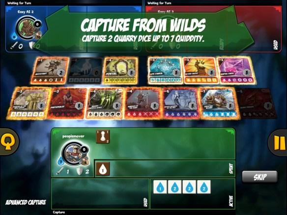 quarriors - capture from wilds