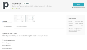Pipedrive and Zendesk integration