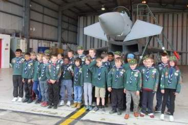 The troop with the Typhoon