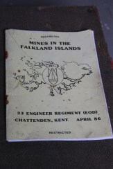 Mine information for British soliders