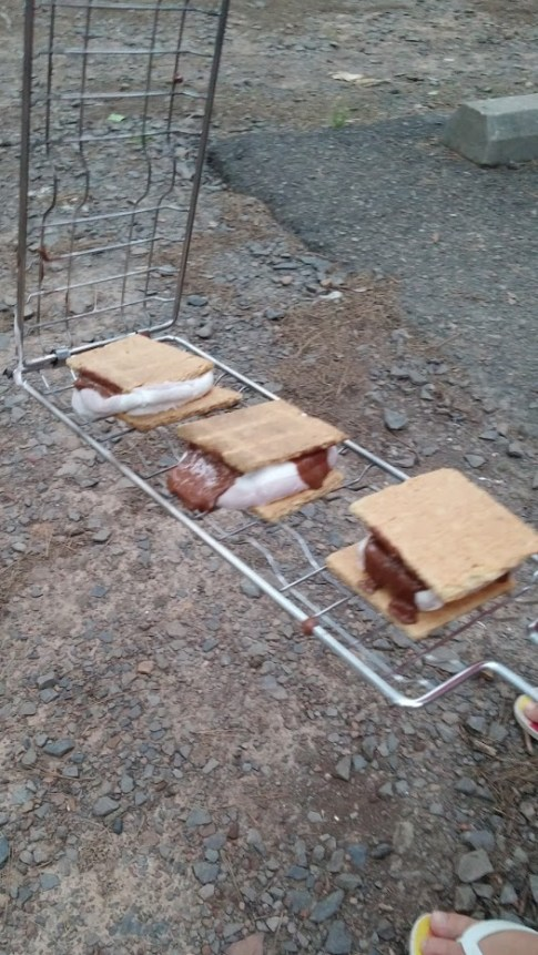 S'mores at Petit Jean State Park