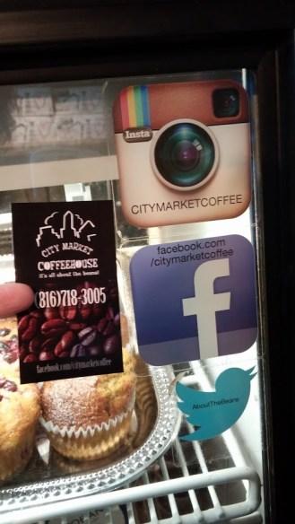 CoffeeHouse social media
