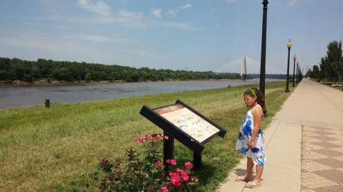 Missouri River in Kansas City, MO