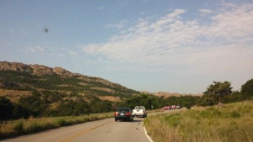 Arriving at Wichita Mountains Wildlife Refuge