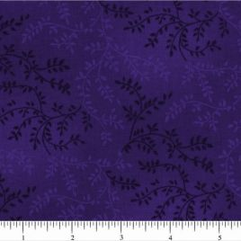 108″ Dark Purple Leaves