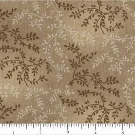 108″ Light Brown Leaves