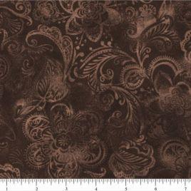 108″ Dark Brown Batik II