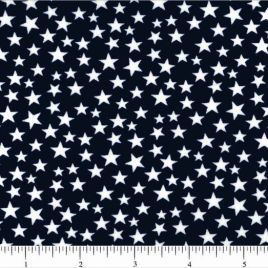 108″ Small Stars on Blue