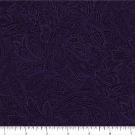 108″ Purple Paisley