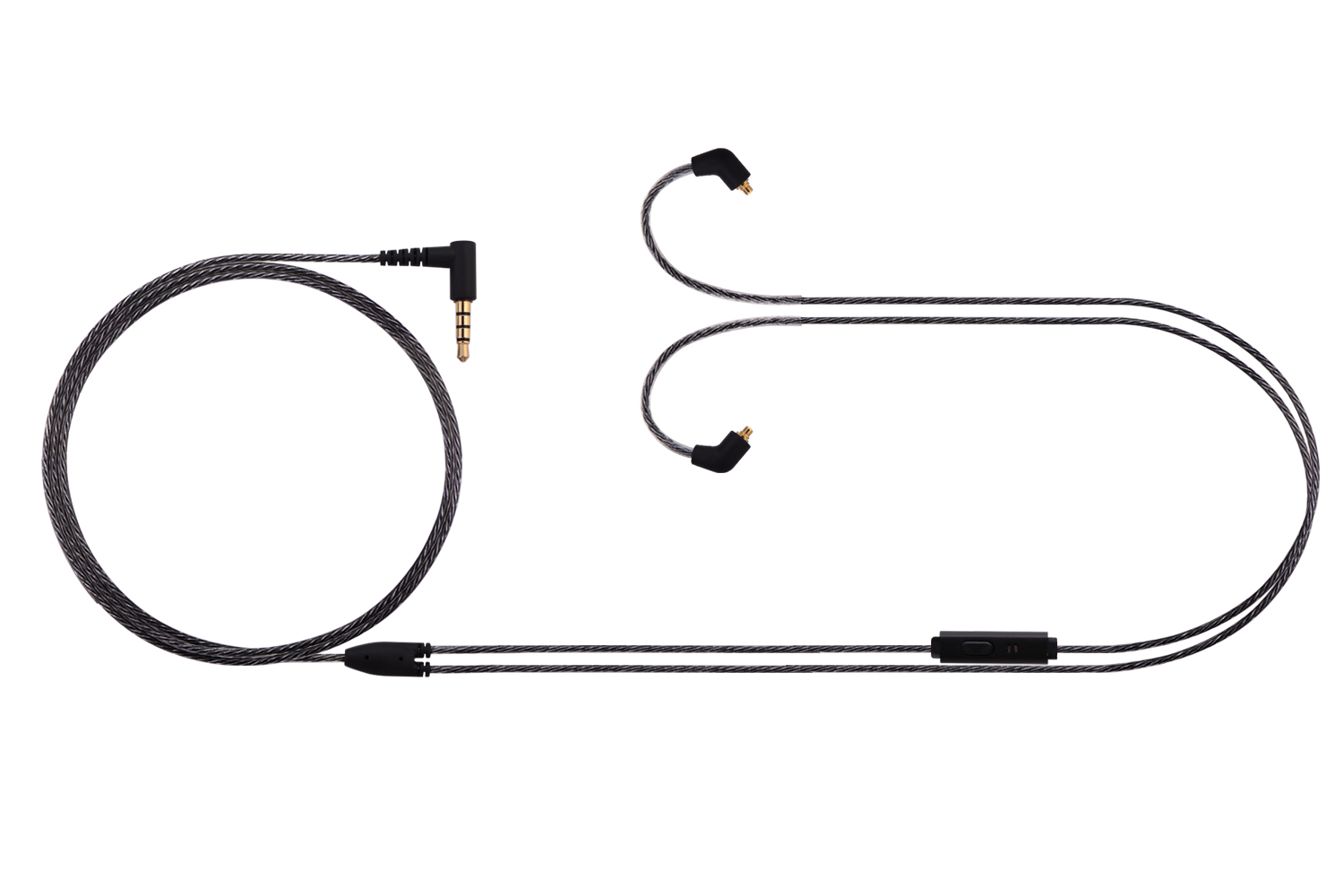 Basn Mc100 Replacement Earphones Cable With Microphone