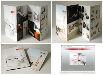 Thinice brochure and website design