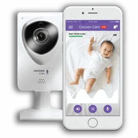 Cocoon-Cam-our top-rated video-baby-monitor-with computer vision technology to track breathing rate per minute
