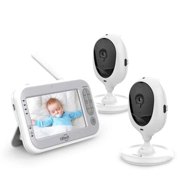 LBTech Video Baby Monitor - 2019 Released baby monitor best for twins