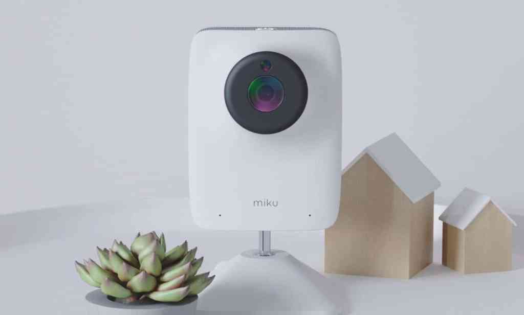 Miku baby monitor camera