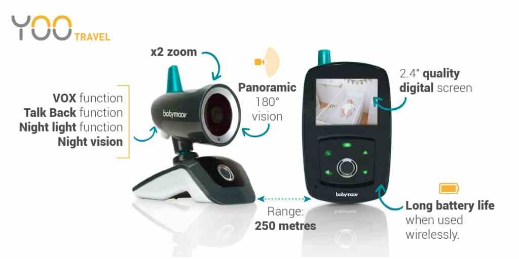 babymoov video baby monitor yoo travel review