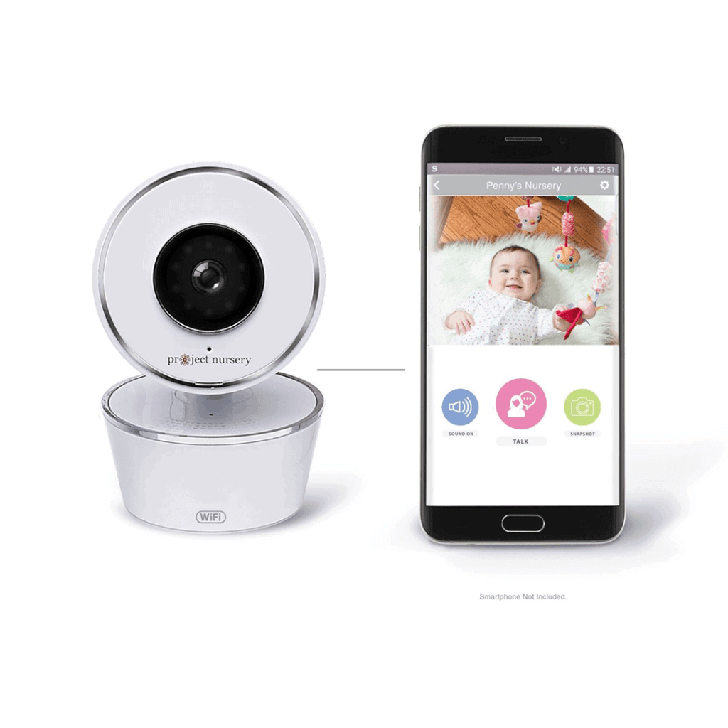 Smart baby monitor by project nursery as echo show baby monitor