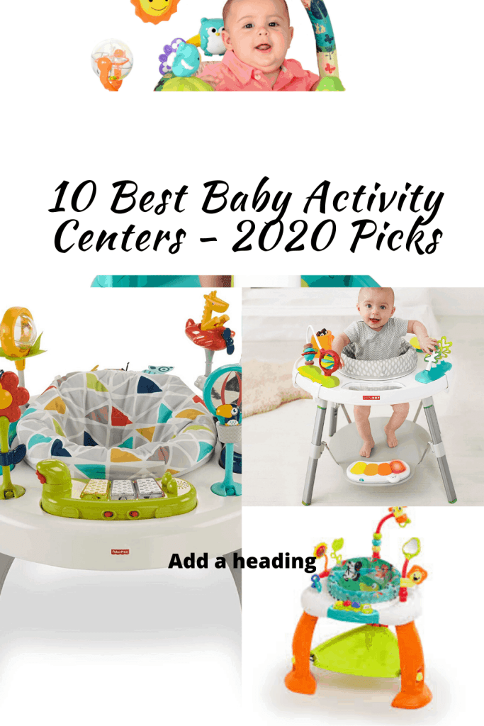 Best Baby Activity Centers - 10BabyGear List 2020 for Pinterest publication