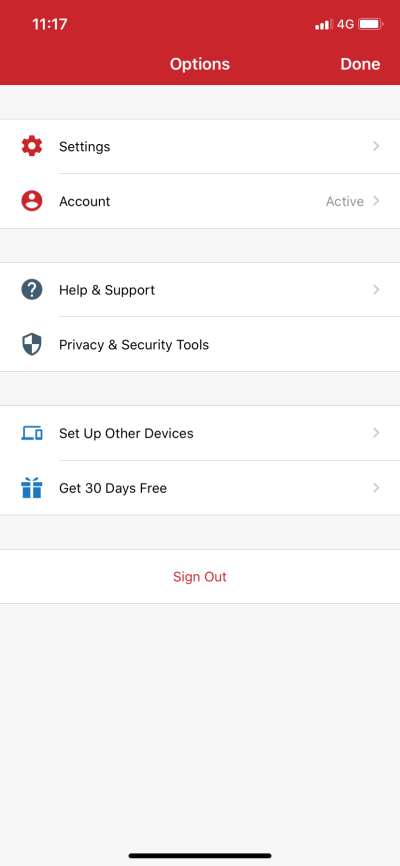 IOS ExpressVPN setting