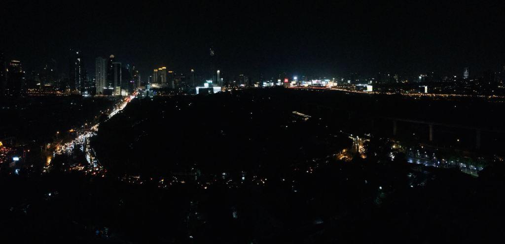 泰国曼谷夜景照片