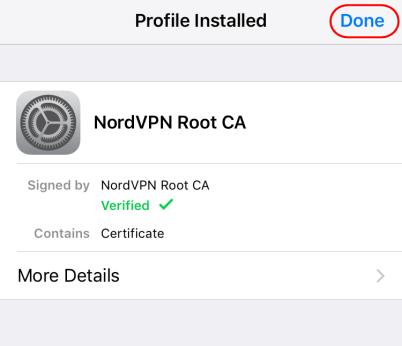 NordVPN IKEv2证书安装 - 3
