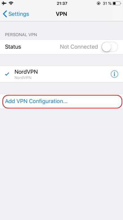 NordVPN IKEv2证书安装 - 5