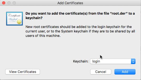 NordVPN Mac IKEv2 证书安装-2