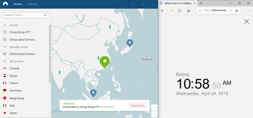 NordVPN windows 香港节点 #77 20190424105914