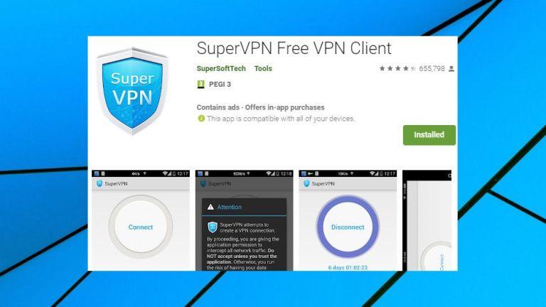 SuperVPN-Security breach