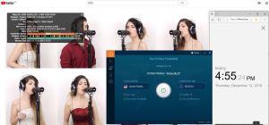 Windows IvacyVPN USA 中国VPN翻墙 科学上网 SpeedTest 测速 - 20191212