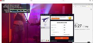 Windows PureVPN HongKong 中国VPN翻墙 科学上网youtube测试-20191203
