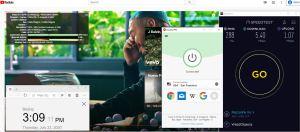 Windows10 ExpressVPN IKEv2协议 USA - San Francisco 中国VPN 翻墙 科学上网 测速-20200723