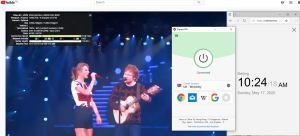 Windows10 ExpressVPN UK - Wembley 中国VPN 翻墙 科学上网 youtube测速-20200517
