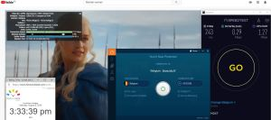 Windows10 IvacyVPN-Prime版本 Belgium 中国VPN 翻墙 科学上网 翻墙速度测试 - 20200808