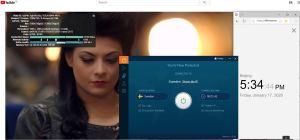 Windows10 IvacyVPN Sweden 中国VPN翻墙 科学上网 Youtube测速 - 20200117