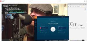 Windows10 IvacyVPN Switerzland 中国VPN翻墙 科学上网 YouTube连接速度 VPN测速 - 20200115