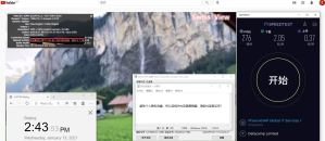 Windows10 NordVPN Open VPN GUI SG2100 服务器 中国VPN 翻墙 科学上网 10BEASTS BARRY测试 - 20210113